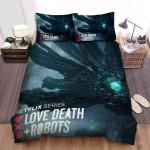 Love, Death & Robots Movie Poster Bed Sheets Spread Comforter Duvet Cover Bedding Sets Ver 2