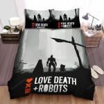 Love, Death & Robots Movie Poster Bed Sheets Spread Comforter Duvet Cover Bedding Sets Ver 6