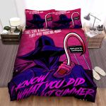 I Know What You Did Last Summer The Three Clubs In Association With Player - Hater Productions Presents Movie Poster Bed Sheets Spread Comforter Duvet Cover Bedding Sets