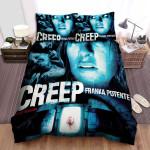Creep (I) (2014) Movie Poster Uncut Version Bed Sheets Spread Comforter Duvet Cover Bedding Sets