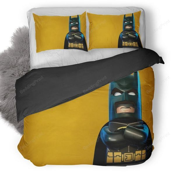 Lego Batman Superhero Duvet Cover Bedding Set - BeddingPrint