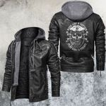 Skull Leather Jacket Biker