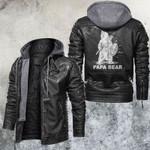 Papabear Warrior Leather Jacket