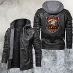 Freedom Biker Till I Die Leather Jacket