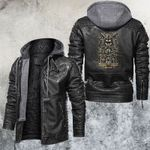 Zodiac Libra Motorcycle Club Leather Jacket