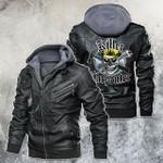 carpenter skull leather jacket