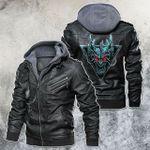 Dragon Motorcycle Club Leather Jacket