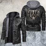 Skull Driver Leather Jacket