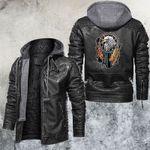 The Native Eagle Leather Jacket