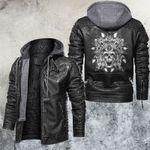 Skull Leather Jacket Native