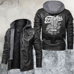 Fearless Rider Fast Club Leather Jacket