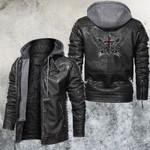 God of Speed Cross Wings Leather Jacket