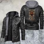 Zodiac Taurus Motorcycle Club Leather Jacket