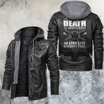 Live A Life Without Fear Leather Jacket