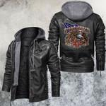 United States Firefighter Leather Jacket