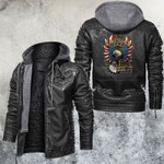 America Love It Or Leave It Leather Jacket