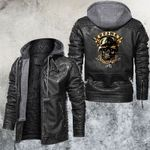 We Fight What You Fear Leather Jacket