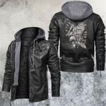 Raise Your Bottle Eagle Leather Jacket