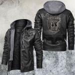 American Veteran Pride Leather Jacket