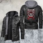 Marching Soul By Vision Eyes Leather Jacket