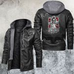 Deadly Beauty Motorcycle Club Leather Jacket