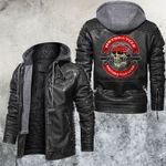 Motocycle Skull Club Leather Jacket