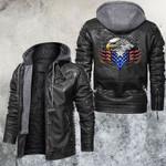Bikers Of Freedom Leather Jacket