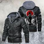 After War Battle Field Samurai Leather Jacket