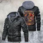 american welder roughnesk leather jacket