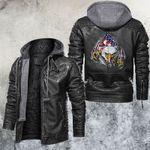 Freedom Inside Leather Jacket