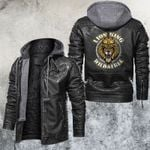 The Lion King Wild and Free Leather Jacket