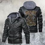 american carpenter skeleton leather jacket