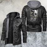 Demon Skull Leather Jacket