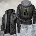 The High Priestess Tarot Card Leather Jacket