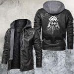 Skull And Art Leather Jacket