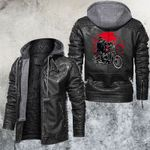 Blood Moon Rider Leather Jacket