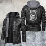 Vaping Death God Leather Jacket