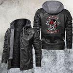American Chopper Skull Leather Jacket