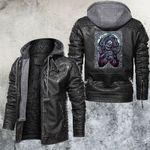 Death God Leather Jacket