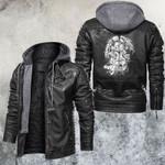 Wild Owl Motorcycle Club Leather Jacket