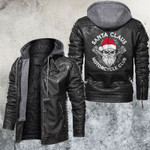 Motocycle Club Skull Leather Jacket