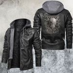 Sniper One Shot One Kill Leather Jacket
