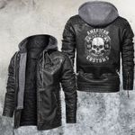 The Bronx Biker Club Leather Jacket