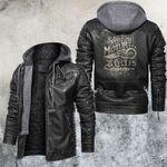 Speed King Motocycle Club Leater Jacket