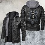 Death God is Watching Leather Jacket