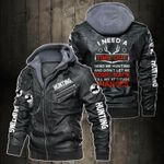 Personalized Name Hunting Club Leather Jacket