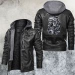 American Native Living Soul Leather Jacket