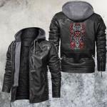 Zodiac Scorpion Motorcycle Club Leather Jacket