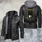 The World Tarot Card Leather Jacket