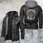 Speed Junkies Motorcycle Club Leather Jacket